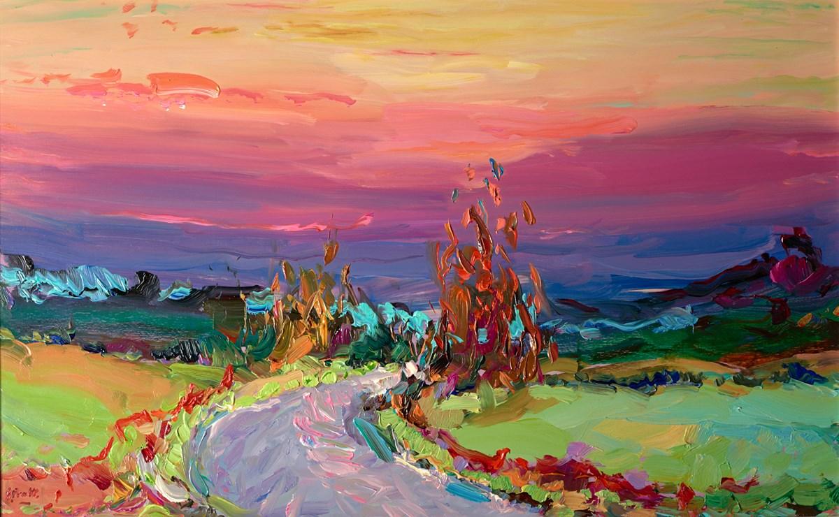 Autumn Sunset Over Little Compton